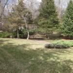 backyard in North Kingstown RI
