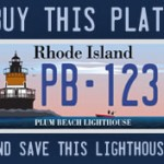 License Plate - North Kingstown RI
