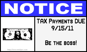 Pay the Tax man