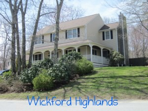 Wickford Highlands neighborhood in North Kingstown RI real estate