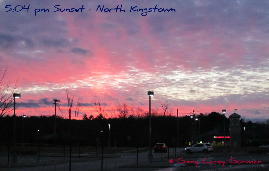 North Kingstown RI Sunset