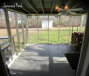 Porch view at 57 Firwood Drive North Kingstown real estate