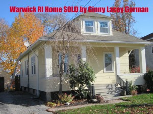 Another Warwick RI Home Sold-  Chase Short Sale Real Estate Closed