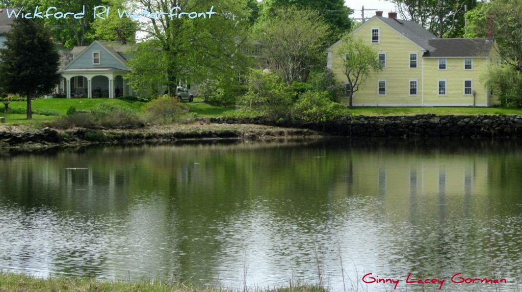 Wickford Rhode Island's Waterfront Landscape in real estate