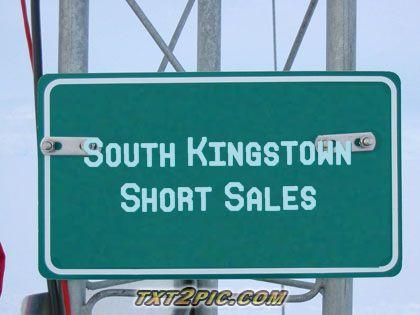 South Kingstown RI Short Sales - Real Estate