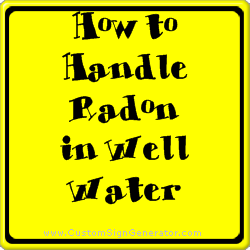Radon in Well Water- RI Living