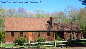 Burnt Cedar Home in North Kingstown Real Estate