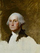 Portrait of George Washington by North Kingstown's Gilbert Stuart