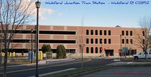 Wickford Junction- North Kingstown Train Station - Boston Bound