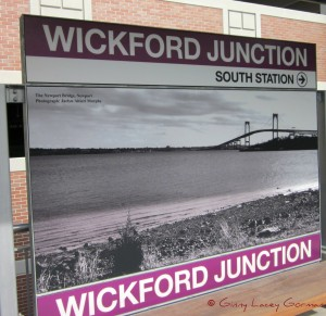 Wickford RI Train Station