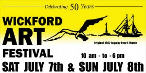 Wickford RI Art Festival - July 7 & 8 2012