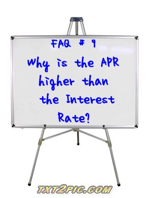 Mortgage Interest Question when buying real estate