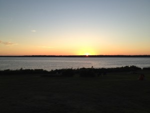 Jamestown RI real estate - Beavertail sunsets