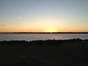 Jamestown RI real estate - Beavertail sunsets