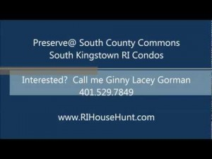 Real Estate on Ri Condos   Preserve  South County Commons   Rhode Island Real Estate