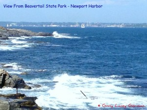 waterfront Jamestown RI real estate view