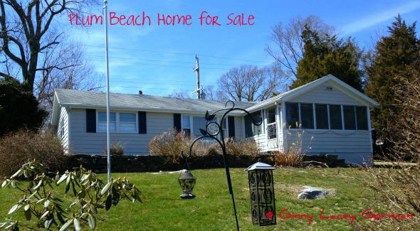 Plum Beach Water View Home for Sale in RI real estate