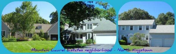 North Kingstown RI Neighborhood | Mountain Laurel Estates