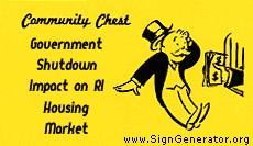 Government Shutdown impacts RI housing market in RI real estate