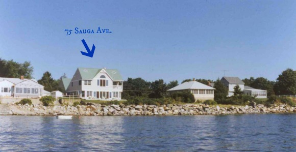 75 Sauga Ave North Kingstown RI Waterfront Home for Sale