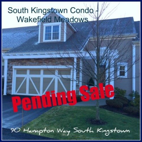 South Kingstown Condo Pending | Wakefield Meadows