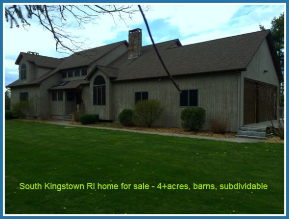 South Kingstown RI Home Sale Report October 2014