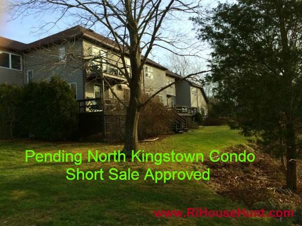 Pending North Kingstown Short Sale Condo