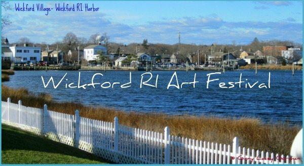 2014 Wickford RI Art Festival July 15-16