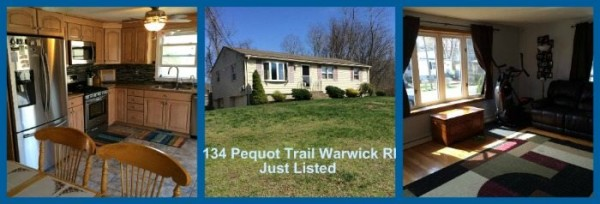 Warwick RI Ranch for Sale | 134 Pequot Trail