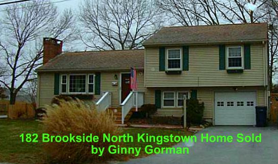 Sold North Kingstown RI Home | 182 Brookside Dr