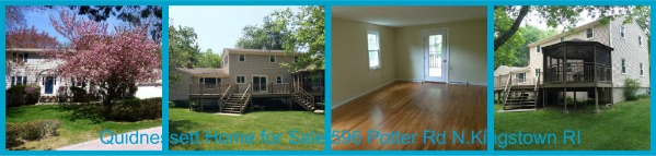 Quidnessett Neighborhood Home for Sale North Kingstown RI