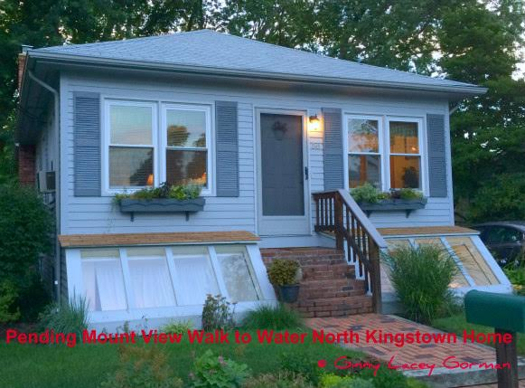 Another Pending Sale North Kingstown Walk to Water Home| Mount View neighborhood