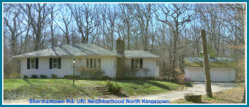 North Kingstown Home for Sale Acreage Shermantown Rd Area