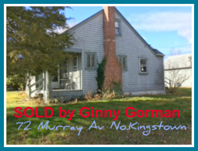 Sold Mount View N.Kingstown Bungalow Home