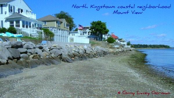 Mount View neighborhood North Kingstown RI coastal real estate