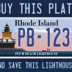 License Plate - North Kingstown RI