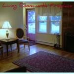 Living room at 19 Glenwood Drive North Kingstown RI