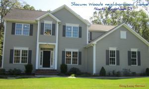 Slocum Woods neighborhood home for sale