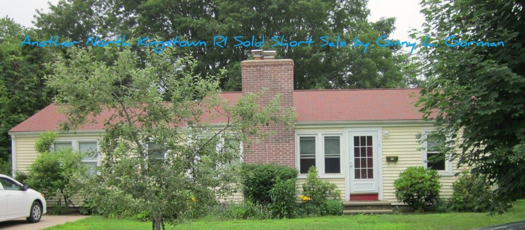 Another Short sale by Ginny L. Gorman- SOLD
