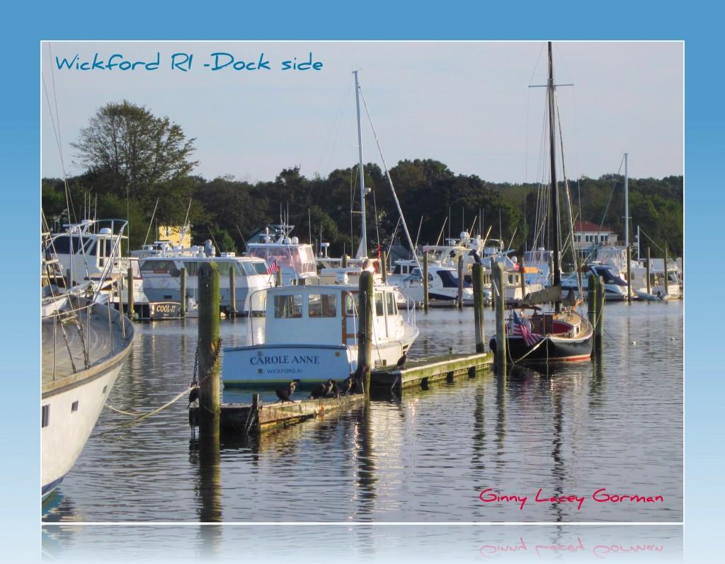 Wickford RI at the Docks
