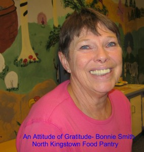Bonnie Smith North Kingstown RI is proud