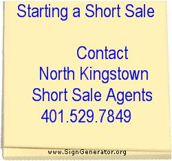 Short Sale contact - North Kingstown short sale agents