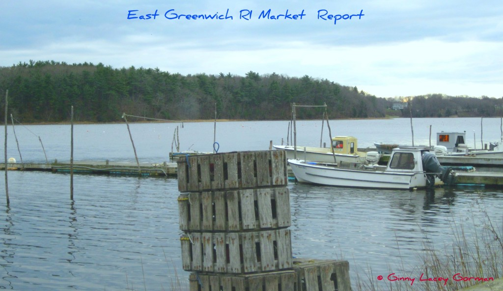 East Greenwich RI bay view of real estate