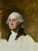Portrait of George Washington by North Kingstown's Gilbert Stuart
