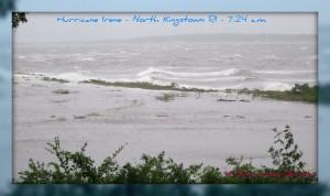 Coastal RI areas are the hardest hit be the Hurricanes