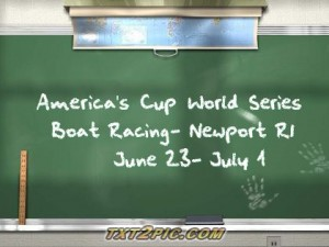 America's Cup World Series 2012 Races-Newport Rhode Island real estate