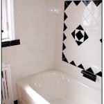 Reglazing bathroom tiles