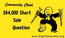 RI short sales
