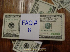 """FAQ #8 ......... Do I Have To Escrow My Taxes & Homeowners Insurance?""when buying real estate"