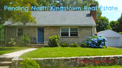 Another Pending North Kingstown RI Real Estate Home by Ginny Lacey Gorman
